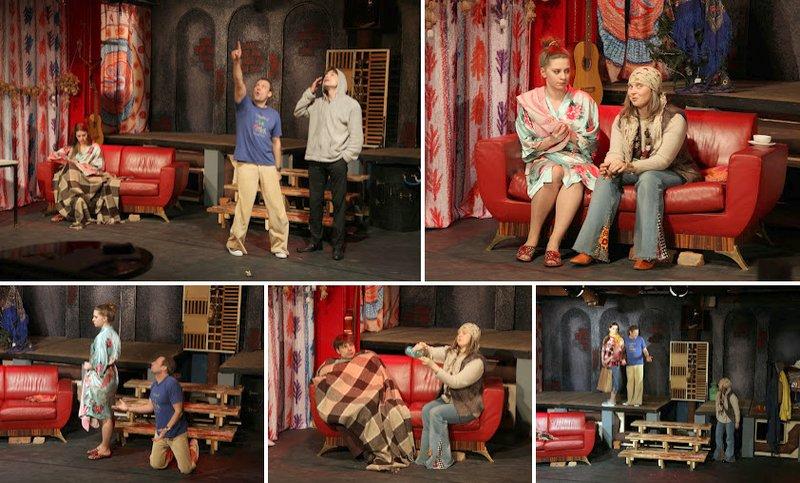 Премьерой авантюрной комедии Прохиндеи театр ФЭСТ откроет Сцену под крышей